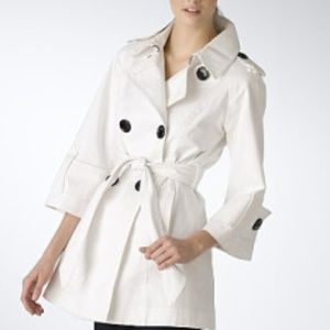 Miss Sixty double breasted trench bold buttons S
